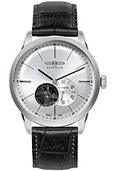 Zeppelin Flatline 7364-4 Automatic - Open Heart (Balance) Watch