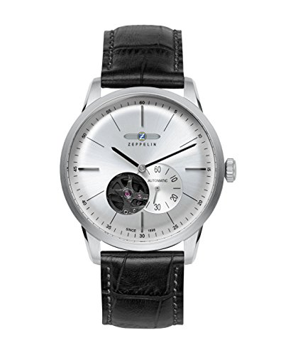 Zeppelin Flatline 7364-4 Automatic - Open Heart (Balance) Watch
