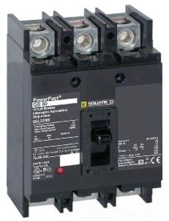 1- QBL32200 Square D Circuit Breaker, 200 Amp, 3-Pole Schneider 200A 3P by SQUARE D