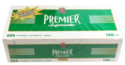 (5) Five Boxes of Premier Menthol - 100mm Cigarette ()