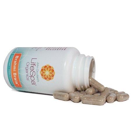 Brahmi-Brain (Gotu Kola) - Supports Brain Lymph & Skin Health - 500 mg (Centella asiatica Herb) - 90 Vegetarian Capsules - Kosher Certified - Non-GMO Ingredients