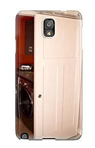 Galaxy Note 3 Cover Case - Eco-friendly Packaging(sliding White Barn Door Hides Laundry Room From Kitchen) T8R5NEV56MI60TZ6