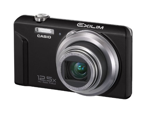 Casio Casio Ex-Zs100 Digital Camera - Black (14.1Mp, 12.5X Optical Zoom) 2.7 Inch Lcd (Casio Mp3 Player)