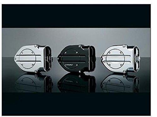 Kuryakyn 9992 Chrome Hypercharger Air Filter Kit (Air Hypercharger)
