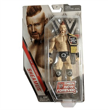 WWE Basic Series Then Now Forever Sheamus Exclusive Action Figure (with Championship Belt)
