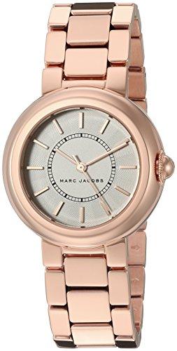 마크제이콥스 코트니 시계 마크 제이콥스 Marc Jacobs Womens Courtney Rose Gold-Tone Watch - MJ3466
