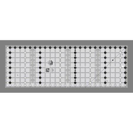 Quilt Ruler Grid - Creative Grids Quilt Ruler 8-1/2in x 24-1/2in
