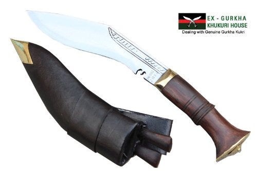 "6"" Blade Super Mini Jungle Kukri - Authentic Gurkha Khukuri - Handmade Knife By Ex Gurkha Khukuri House in Nepal"