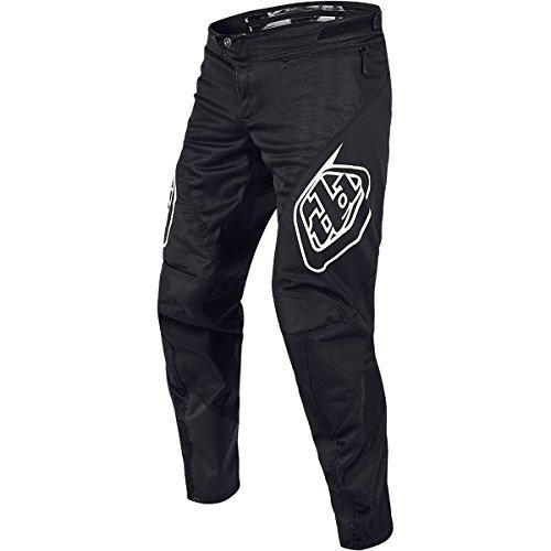 (Troy Lee Designs Sprint Pant - Men's Solid Black, 32)
