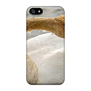 New Diy Design A Young Swan For Iphone 5/5s Cases Comfortable For Lovers And Friends For Christmas Gifts