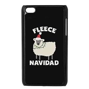GTROCG Stay Weird T-REX Hates Killin?¡¥ It Flawless Fleece Navidad Phone Case For Ipod Touch 4 [Pattern-1]