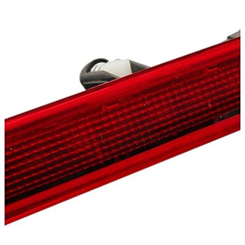 Semoic Ampoule de Frein Centre de Haut Niveau LED Auto feu Rouge pour VW Transporter T5 Nouveau Rouge