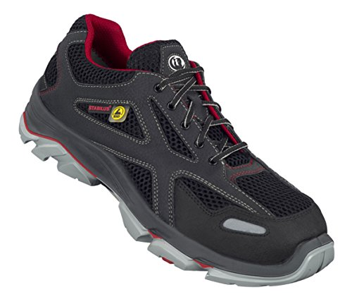 Rot Schwarz Schwarz De Adulte Stabilus Chaussures 6130a Sécurité Noir Mixte rot Bw8gzqfS