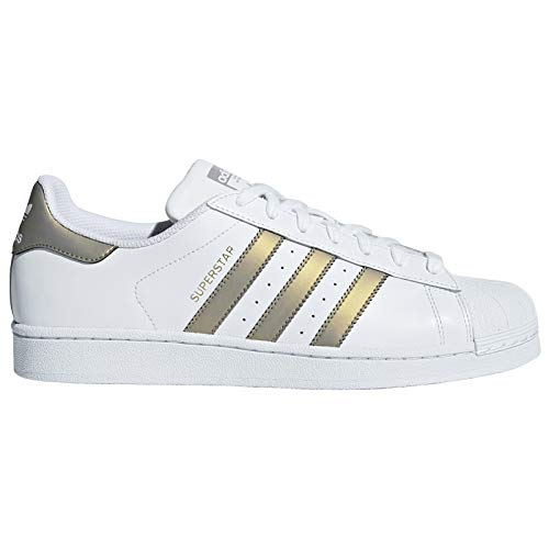 Gold De Superstar Metalic White Chaussures Homme Adidas Fitness Grey 04zxzf