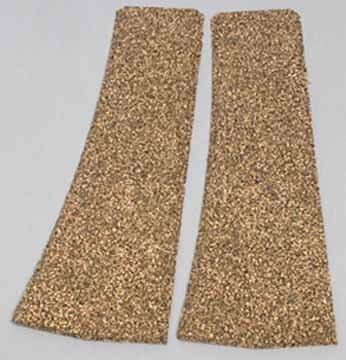 Cork Roadbed Strips - Midwest Products Co. HO Beveled Switch Pad, Right-Hand (2)