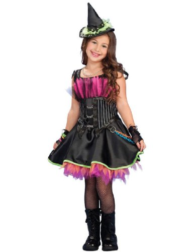 Rockin Witch Child Costumes (Rockin' Out Witch Child Costume - Small)