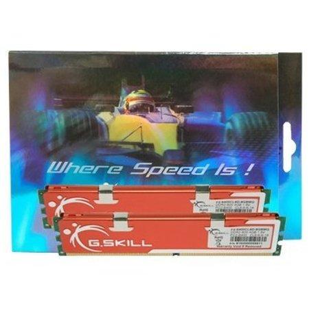G.Skill F2-6400CL6D-8GBMQ 8GB (2 x 4GB) 240-Pin DDR2 SDRAM DDR2 800 MHz (PC2 6400) Dual Channel Kit Desktop Memory