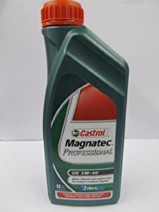 castrol magnatec professional 5w 40 fully synthetic oil 1l 1l car motorbike. Black Bedroom Furniture Sets. Home Design Ideas