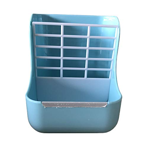 - Hay Food Bin Feeder, Hay and Food Feeder Bowls Manger Rack for Rabbit Guinea Pig Chinchilla and Other Small Animals