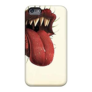 DannyLCHEUNG Iphone 6 Durable Hard Phone Covers Support Personal Customs Realistic Rolling Stones Skin [AjB10906LovP]