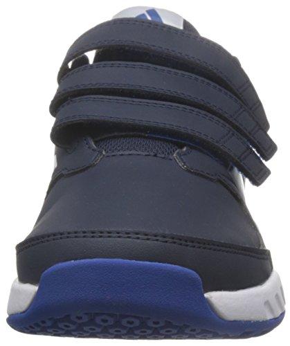 adidas Unisex-Kinder FortaGym CF K Fitnessschuhe LEGINK/FTWWHT/CROYAL