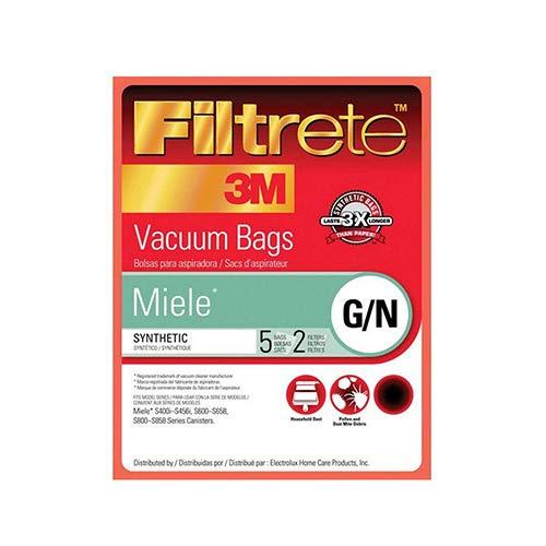 3M Filtrete Miele G/N Synthetic Vacuum Bag, Single Unit
