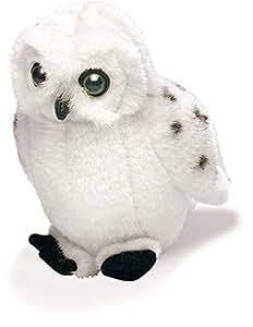 "5"" Snowy Owl Stuffed Animal with Bird Call Sound"
