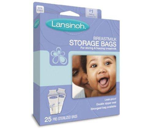 Lansinoh Breastmilk Storage Bags 25 each ( Multi-Pack)