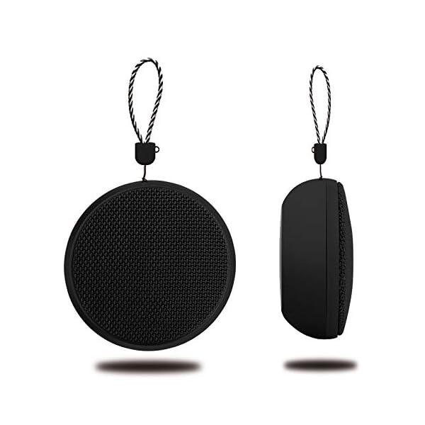 Enceinte Bluetooth Enceinte sans Fil Bluetooth pour Extérieur avec Lanière Mini Haut-Parleur Bluetooth Anti-Goutte 9 * 9 * 5 Cm A 1
