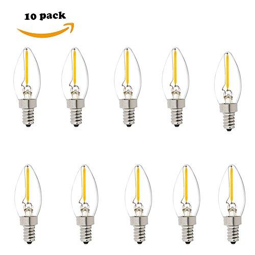 Filament Candelabra Vintage Light Equivalent product image