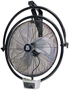 VDC Ventilador Industrial Pared Y Techo 120W Timer 7.5H Y Mando ...