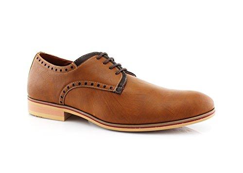 Ferro Aldo Manuel Mfa19393le Oxford Work Of Casual Dress Shoe Brown623