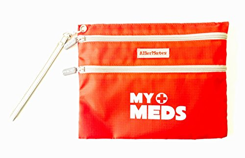 AllerMates MyMeds Medicine Bag for Allergy and Asthma Medicine