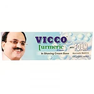 Vicco Turmeric Cream In Shaving Cream Base With Foam (70G) X 2