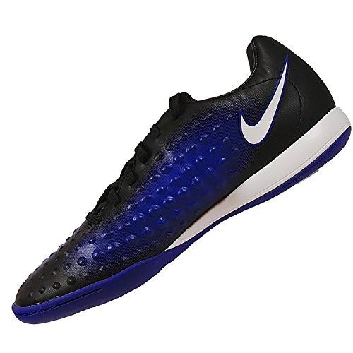 Nike 844422-015, Botas de Fútbol para Niños BLACK/WHITE-PRMNT BL
