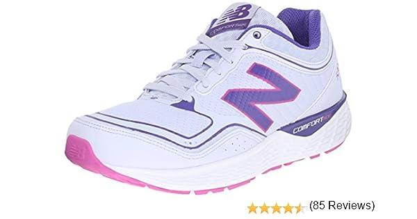 New Balance - Zapatillas de Running para Mujer Violeta y Plateado: Amazon.es: Zapatos y complementos