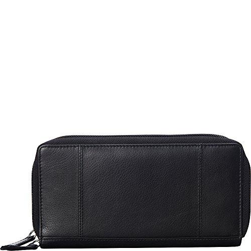 mancini-leather-goods-double-zipper-rfid-secure-wallet-black
