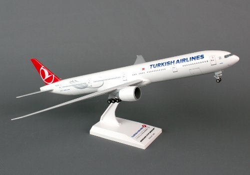 Daron Skymarks Turkish 777 300Er 1 200 Aircraft Model With Gear
