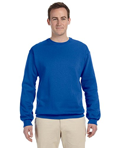 Product of Brand Fruit of The Loom Adult 12 oz Supercotton Fleece Crew - Royal - 3XL - (Instant Savings of 5% & More)