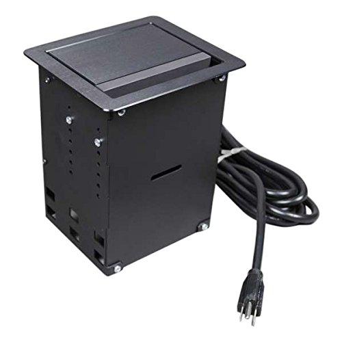 C2G/Cables to Go 16231 Wiremold  InteGreat  A/V Table Box Black by C2G/ Cables To Go
