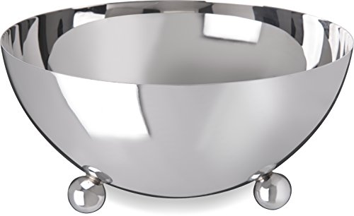 Carlisle 609196 Allegro 18-10 Stainless Steel Display Bowl, 3 qt. Capacity, 9.5 x 4.5