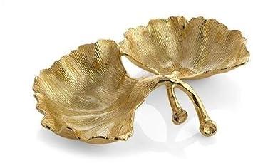 Gold Michael Aram 175661 Cmptmnt Dish
