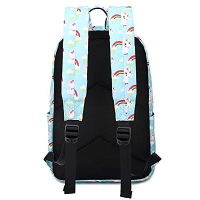 Abshoo Cute Lightweight Kindergarten Backpacks For Girls Unicorn Kids School Bags (Sky Blue) | Kids' Backpacks