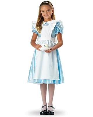 Alice Cute Kids Fairytale Costume