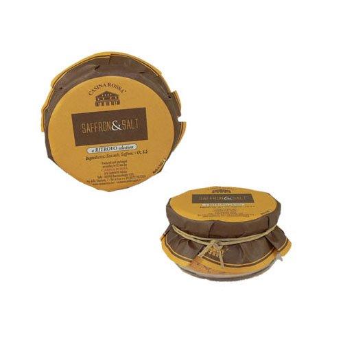 Casina Rossa Saffron Salt - 3.5 oz by Ritrovo Selections