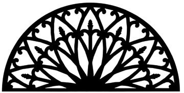 30 Inch Wall Art Style 196 from Village Wrought Iron