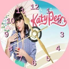 Free Desktop Stand Katy Perry 2 Novelty Cd Clock