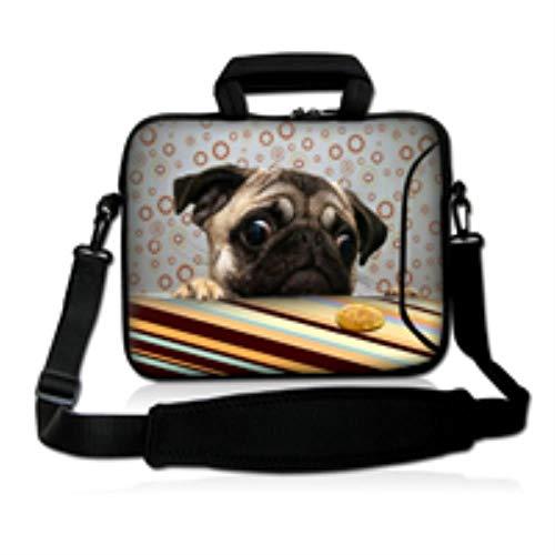 10 13 13.3 14 15 15.6 17 17.3 Inch Laptop Sleeve Notebook Bag Case Messenger Shoulder Laptop Bag for ipad MacBook All-SS,1252,10 inch