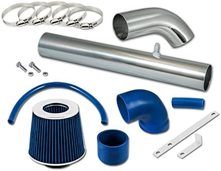 Filter 97-02 Jeep Wrangler TJ 2.5 4.0 ST Racing Blue Short Ram Air Intake Kit