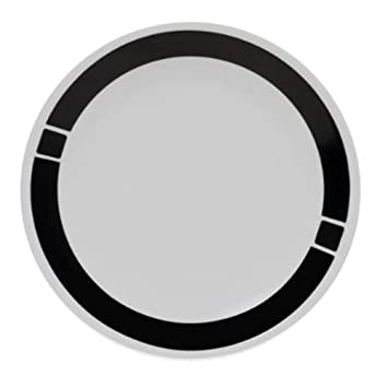 Corelle Urban Black Lunch Plate- Set of 6  sc 1 st  Amazon.com & Amazon.com: Corelle Urban Black Lunch Plate- Set of 6: Luncheon ...